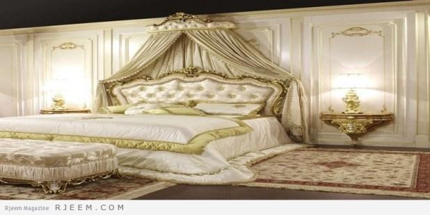 غرف نوم كلاسيك بستارة
