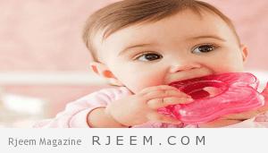 أعراض ظهور الأسنان عند الأطفال