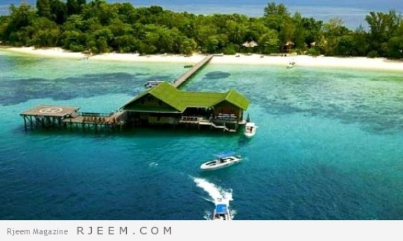 موقع جزيرة لانكايان الماليزية
