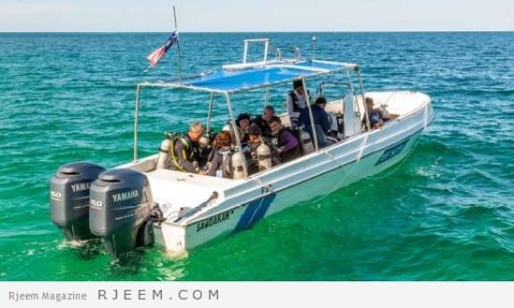 زيارة جزيرة لانكايان و الرحلات البحرية