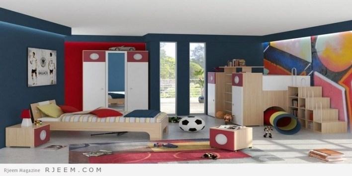 ديكورات غرف نوم اولاد صغار
