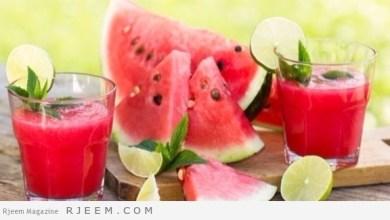 Photo of أطعمة ومشروبات للتصدي لحر الصيف