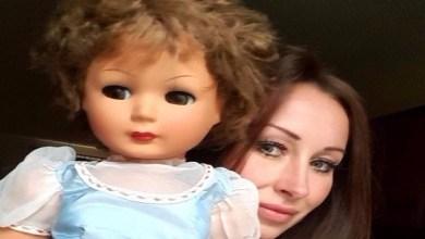 Photo of بالفيديو: دمية تثير رعب امرأة في بريطانيا