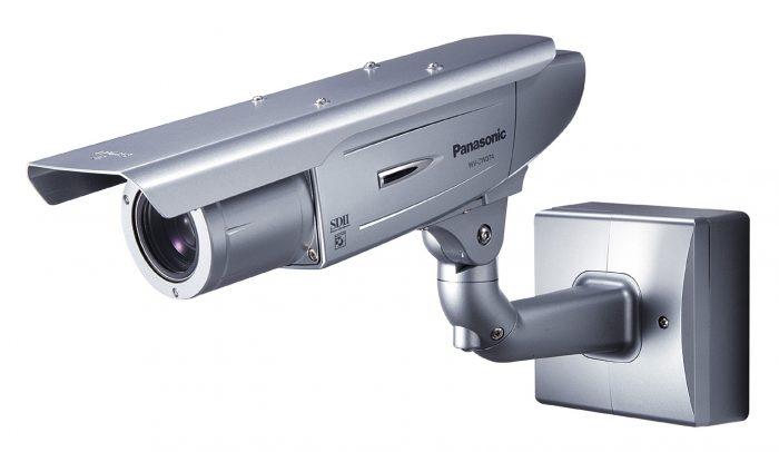 كاميرا المراقبة الصندوقية