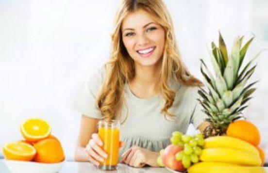 زيادة حجم الصدر بالغذاء