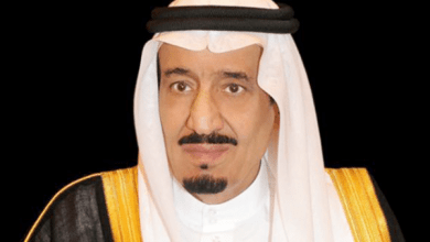 "Photo of طابع تذكاري يحمل صورة الملك ""سلمان"" بمناسبة اليوم الوطني87"