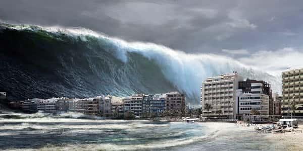 معلومات عن إعصار تسونامي