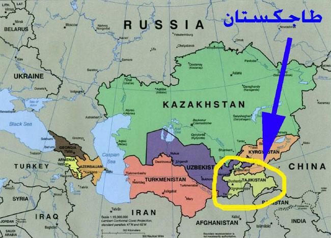 أين تقع طاجكستان