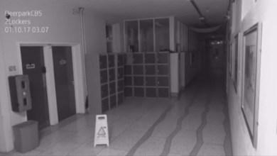 Photo of بالفيديو: شبح يتجول داخل مدرسة ثانوية تحت جنح الظلام