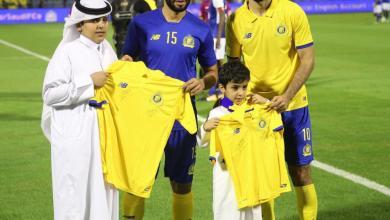 Photo of النصر يستقبل أبناء الشهداء في الديربي