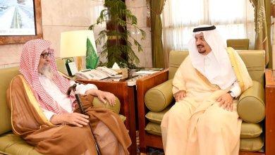 Photo of بالصور: أمير الرياض يستقبل سماحة المفتي والشيخ صالح الفوزان
