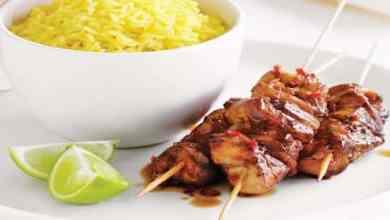 Photo of طريقة عمل الكباب مع الأرز