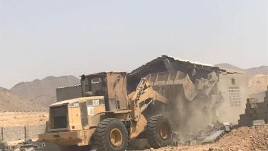Photo of إزالة 27 معمل جبس مخالف في جدة