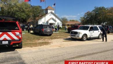 Photo of وسائل إعلام أمريكية: إطلاق نار على عدد من الأشخاص داخل كنيسة جنوب تكساس