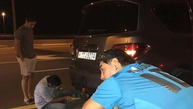 Photo of حكم ينقذ مارادونا بعد تعطل سيارته