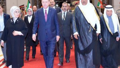 Photo of أردوغان يصل إلى الكويت في زيارة رسمية