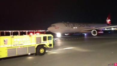Photo of اصطدام طائرتين مصرية وبريطانية في نيويورك