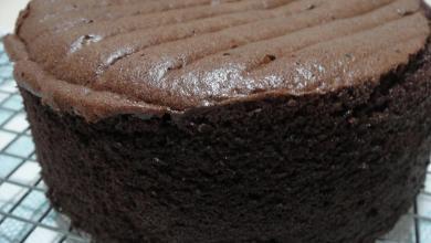 Photo of طريقة عمل الكيكة الاسفنجية بالشوكولاتة