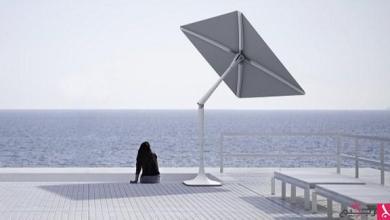 Photo of مظلة ذكية تتحرك مع الشمس وتُشغل الموسيقى وتحرسك أمنياً