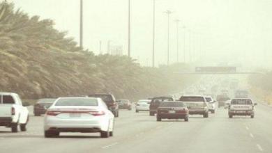 Photo of رياح مثيرة للأتربة والغبار بالقصيم والرياض