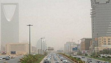 Photo of رياح مثيرة للأتربة والغبار على 5 مناطق بالمملكة