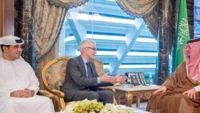 Photo of وزير الداخلية وأمين عام الإنتربول يبحثان الموضوعات المشتركة