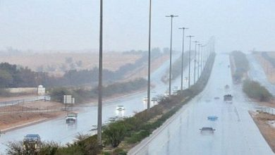 Photo of أمطار على 11 منطقة بالمملكة