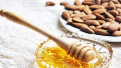 Photo of اللوز والعسل لتقشير البشرة السمراء