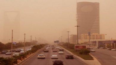 Photo of الأتربة تغطي الرياض (صور)
