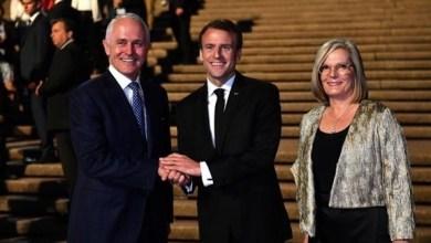 "Photo of رئيس وزراء أستراليا: زوجتي شعرت بـ""الإطراء"" من وصف ماكرون لها بـ""اللذيذة"""