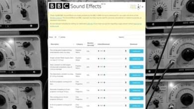 Photo of بي بي سي تطلق مؤثرات صوتية مجانية