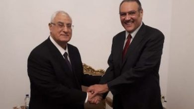 Photo of السفير السعودي بالقاهرة ورئيس مصر السابق يستعيدان الذكريات