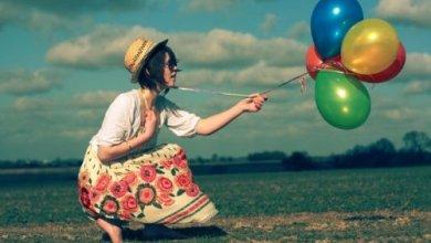 Photo of صور بنات ماسكه بالونات , رمزيات صور بنت مع بالونه للتصميم