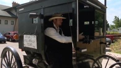 Photo of بالفيديو: يُطلق خدمة أوبر باستخدام حصان وعربة