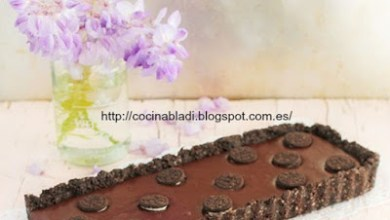 Photo of تشيز كيك بالشوكولاته و بسكويت أوريو بدون فرن بالخطوات المصورة
