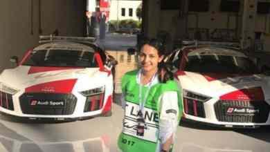 Photo of صور أول سعودية تفوز في سباق سيارات كارتينغ النسائي