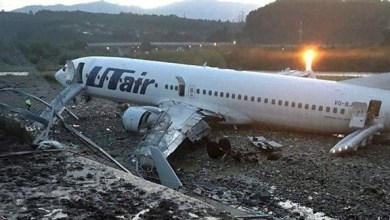 Photo of بالفيديو: إصابة 18 راكباً نتيجة احتراق طائرة في مطار سوتشي