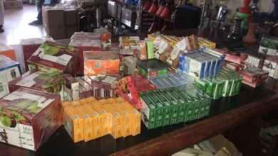 "Photo of إتلاف ٣ آلاف كيلو تبغ وإيقاف ٣٠ عاملاً في حملة ""المقاهي والشيش"" بالرياض"