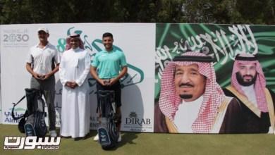 """Photo of خالد بن سعود الفيصل وفيصل سلهب بطلا """"بطولة اليوم الوطني للجولف"""""""