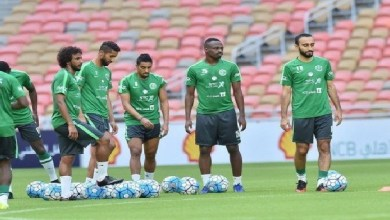 Photo of لاعبو الأخضر ينتظمون في مقر المعسكر بالرياض