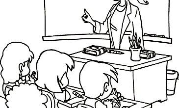 Photo of رسومات جاهزة للتلوين عن يوم المعلم , رسم و تلوين معلم و معلمة , صور يوم المعلم مرسومة