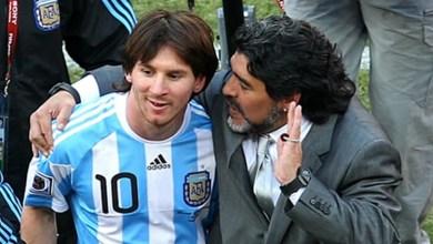 Photo of مارادونا ينصح ميسي بالرحيل عن منتخب الأرجنتين