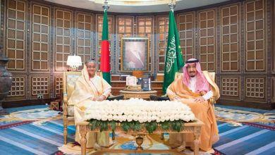 Photo of الملك سلمان يعقد جلسة مباحثات رسمية مع رئيسة وزراء جمهورية بنغلاديش