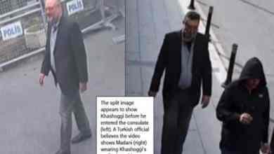 Photo of شاهد: مصطفى مدني يخرج من القنصلية السعودية في اسطنبول مرتديًا ملابس جمال خاشقجي