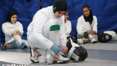 Photo of 15 متطوعة و30 لاعبة في بطولة المبارزة النسائية