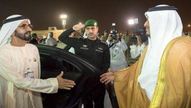 Photo of بالصور: نائب رئيس دولة الإمارات يغادر الرياض عقب مشاركته في المنتدى العالمي للاستثمارات