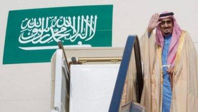 Photo of خادم الحرمين الشريفين يغادر حائل متوجهاً إلى الرياض