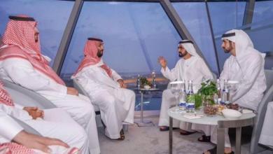 Photo of بالصور.. ولي العهد يلتقي الشيخ محمد بن راشد وملك إسبانيا السابق ورئيس الشيشان في أبوظبي