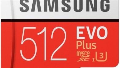 Photo of سامسونغ تطلق بطاقة ذاكرة بسعة 512 غيغابايت