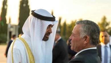Photo of ملك الأردن يودع محمد بن زايد لدى مغادرته عمان